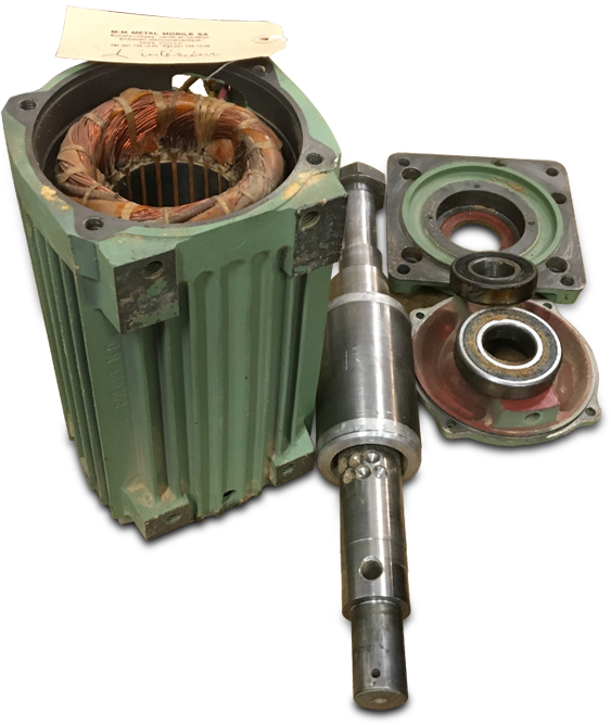 Réparation et entretien de bobines électromecaniques